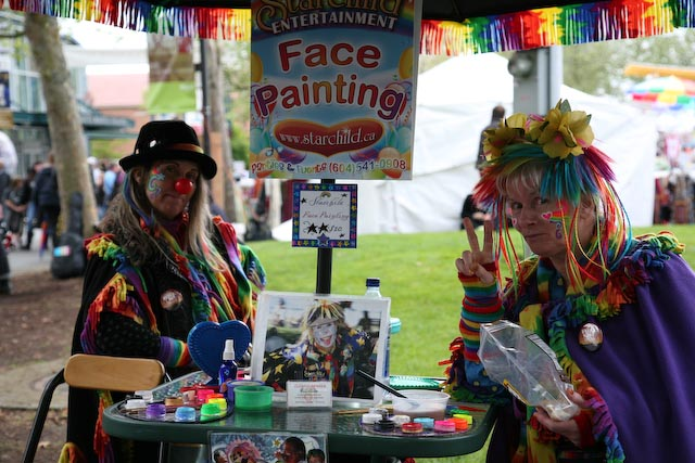 Face-paint-booth